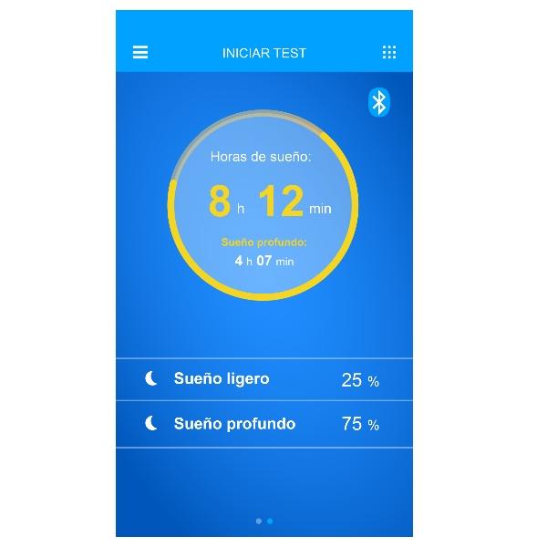 App medición del sueño