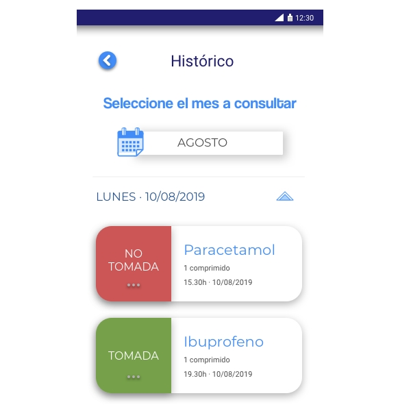 Aviso de medicación App LifeVit